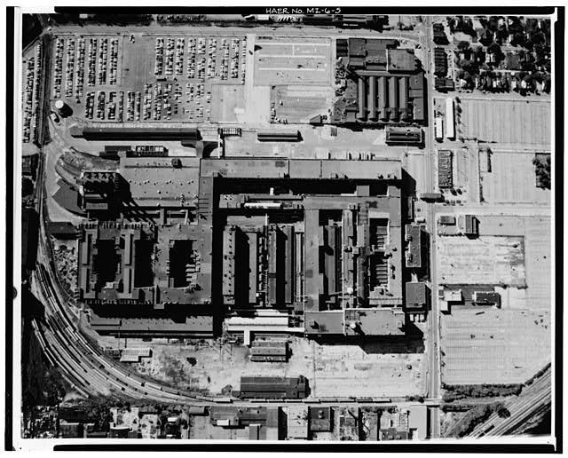 Hamtramck Plant Aerial View 1980