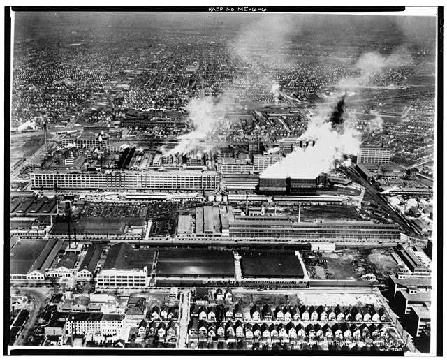 Hamtramck Plant Aerial View 1936