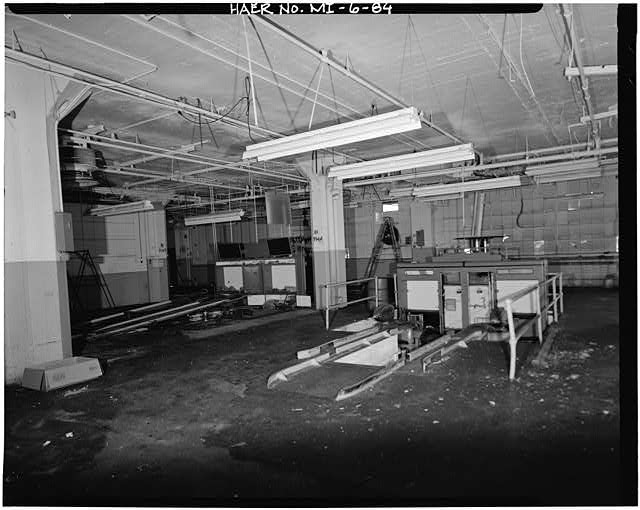 Dodge Hamtramck Plant ASSEMBLING BUILDING #2, FIRST FLOOR 1980