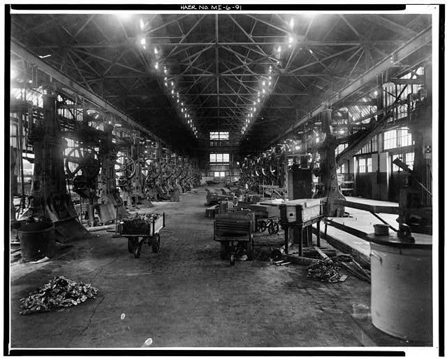 Dodge Hamtramck Plant BLACKSMITH'S SHOP, VIEW SOUTH 1912