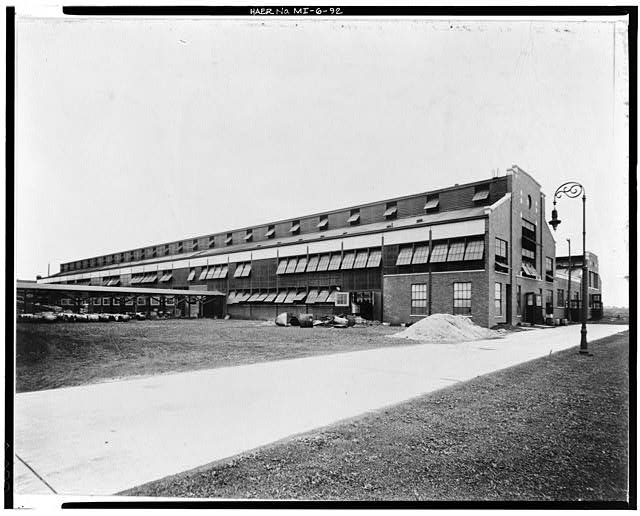 Dodge Hamtramck Plant BLACKSMITH'S SHOP, VIEW NORTHEAST 1912