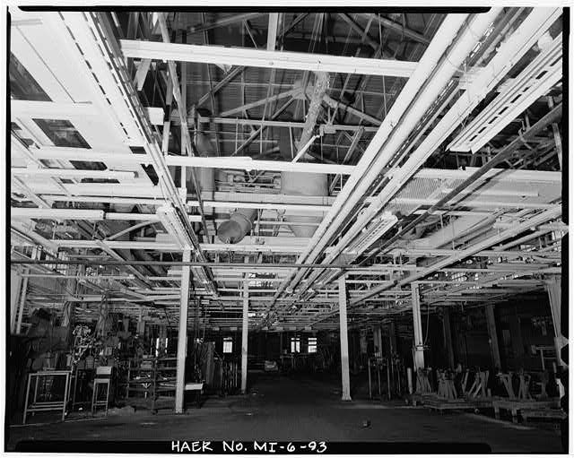 Dodge Hamtramck Plant BLACKSMITH'S SHOP, FIRST FLOOR, 1980