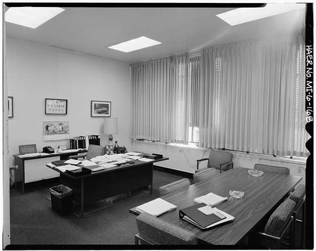 Dodge Hamtramck Plant OFFICE BUILDING THIRD FLOOR, CONFERENCE ROOM, VIEW EAST, 1980