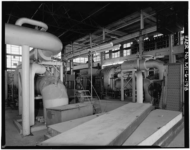 Dodge Hamtramck Plant POWER HOUSE, THIRD FLOOR, VIEW SOUTHEAST, 1980