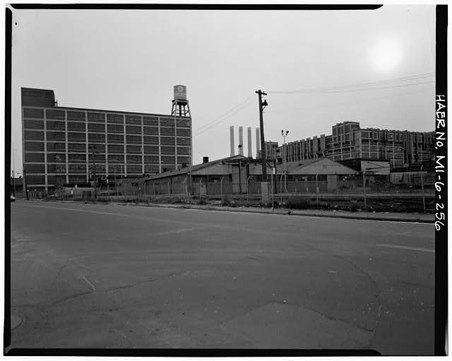 Dodge Hamtramck Plant WAREHOUSE BUILDING, VIEW SOUTHWEST, 1980
