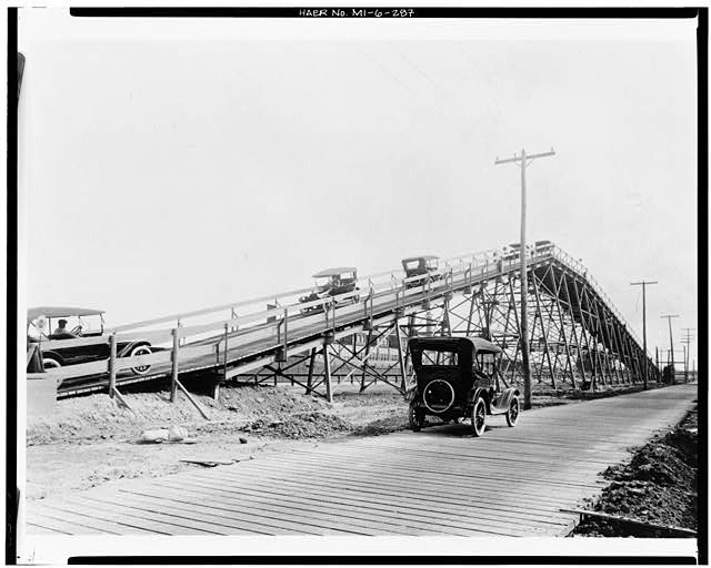 Dodge Hamtramck Plant TEST TRACK, NORTH OF FOUNDRY, VIEW EAST, 1915