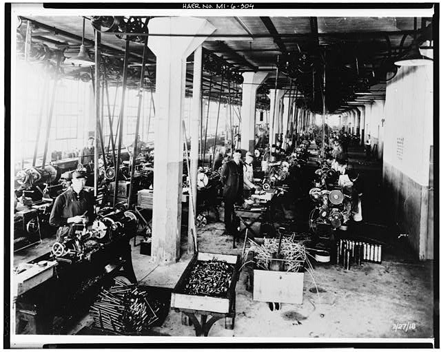 Dodge Hamtramck Plant TOOL ROOM, VIEW EAST, 1918