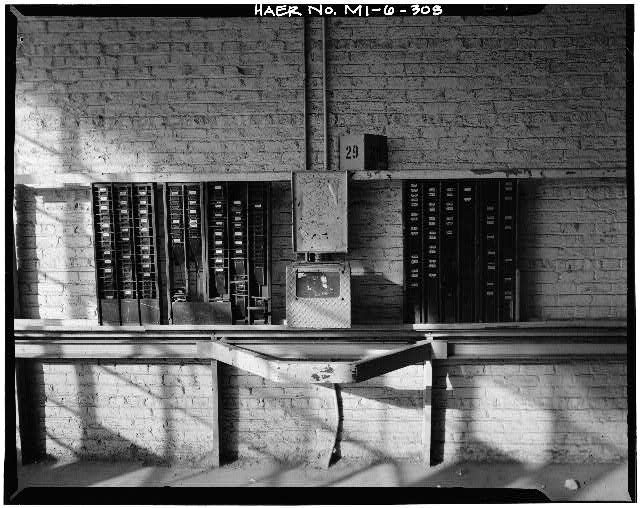Dodge Hamtramck Plant TYPICAL TIME CLOCK, 1980