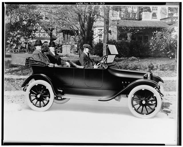Dodge Hamtramck Plant THE DODGE BROTHERS IN THE FIRST CAR, 1914